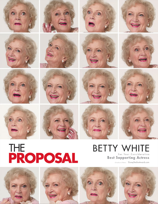 The Proposal FYC Poster: Betty White