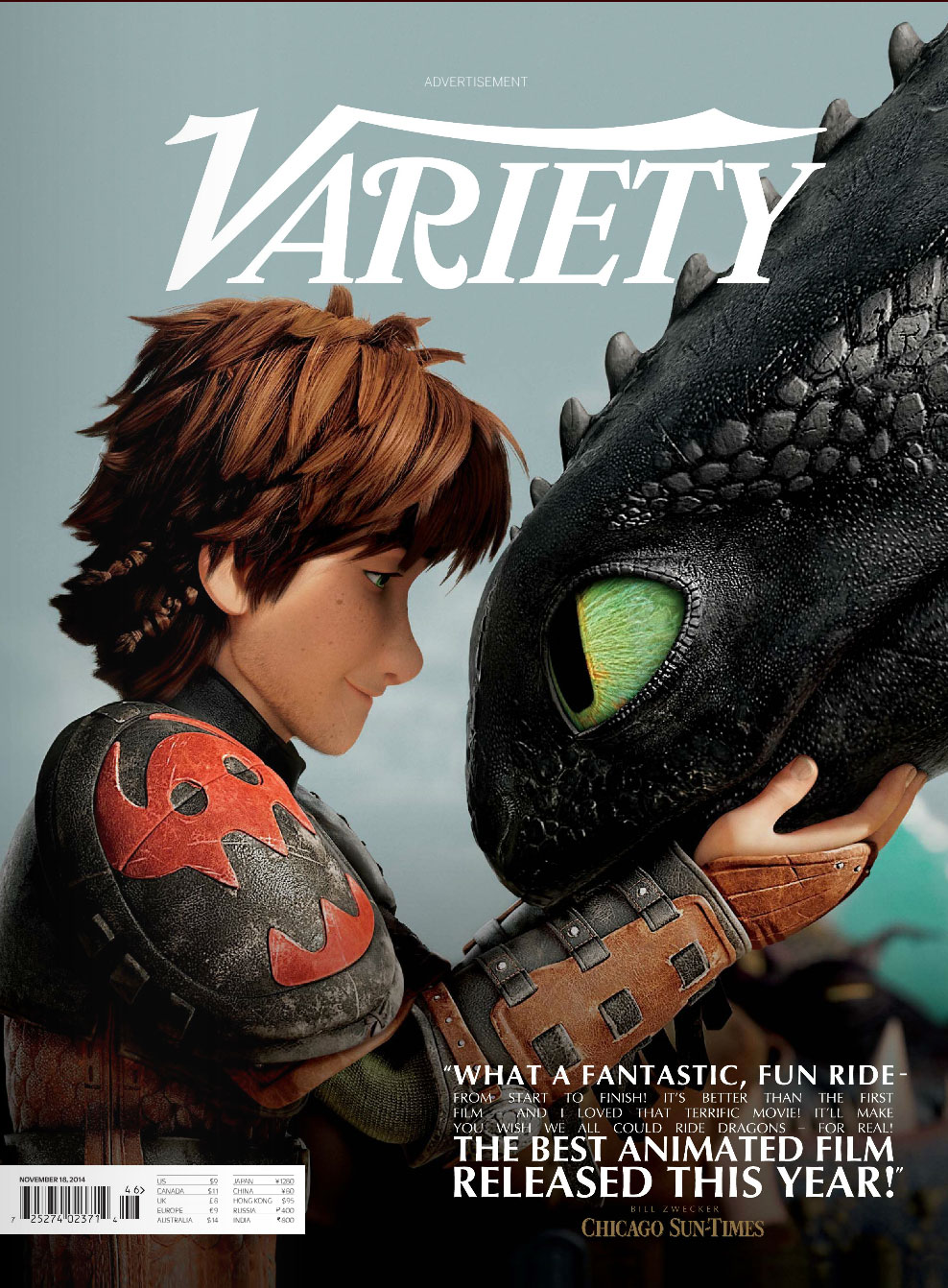 how to train your dragon awards