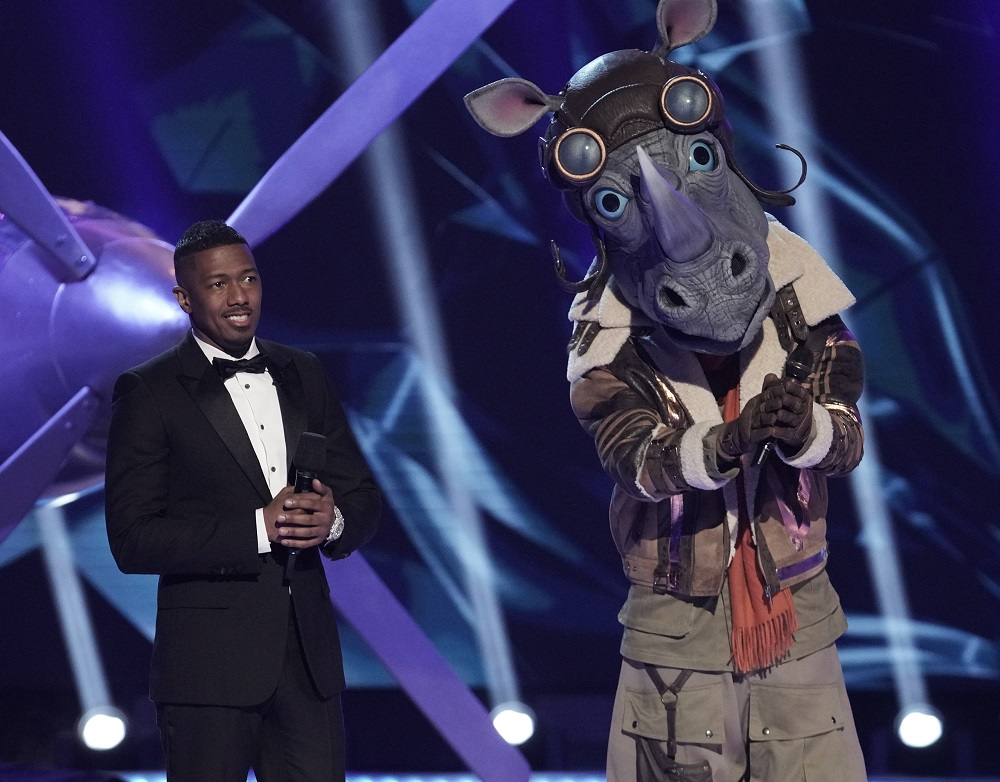 rhino the masked singer