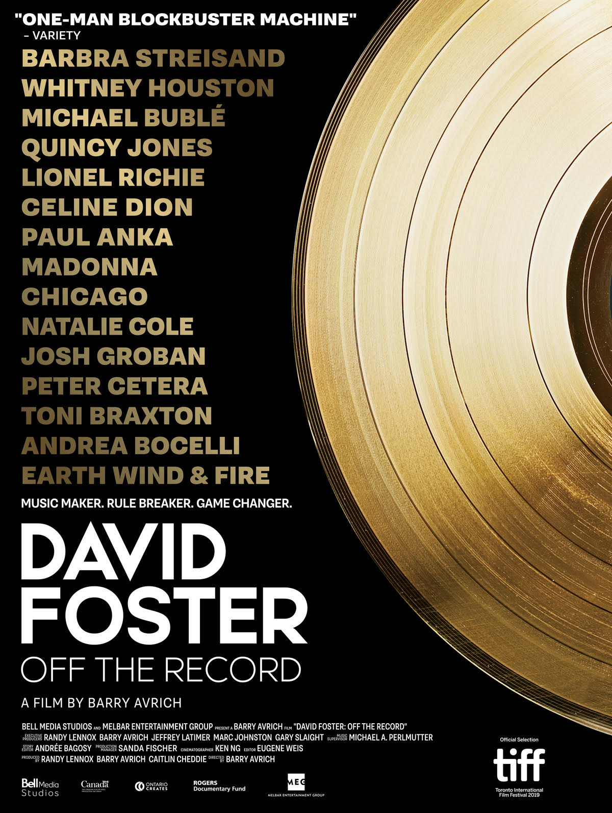 Barry Avrich Discusses His Upcoming Netflix Documentary David Foster Off The Record Awardsdaily The Oscars The Films And Everything In Between
