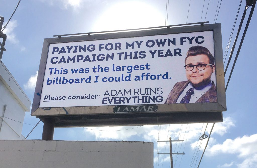 adam ruins everything emmy campaign